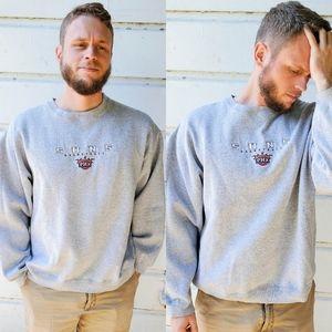 Vintage RARE Phoenix Suns Basketball Gray Sweater